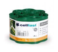 Obrzeże trawnikowe ciemnozielone - 10cm, 9m - CELLFAST