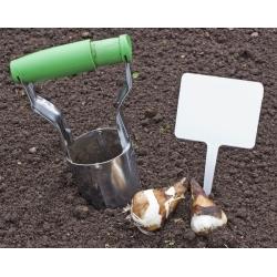 Urządzenie do sadzenia cebul kwiatowych - sadzarka stalowa