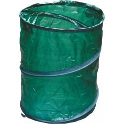 Składany pojemnik ogrodowy na liście, trawę, chwasty i inne odpadki - 85 litrów