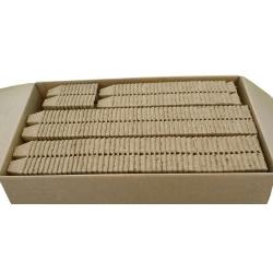 Kwadratowe doniczki torfowe - 6 x 6 cm - 300 sztuk