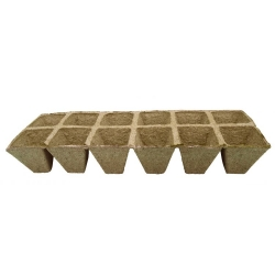 Kwadratowe doniczki torfowe 5 x 5 cm - 300 sztuk