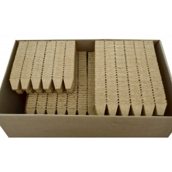 Kwadratowe doniczki torfowe 5 x 5 cm - 1200 sztuk