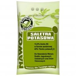 Saletra potasowa - nawóz azotowo-potasowy do ogrodu - granulki - 2 kg