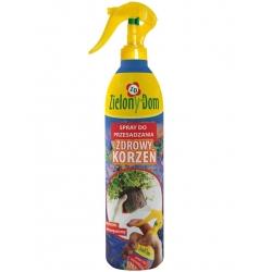Zdrowy korzeń - Spray do przesadzania roślin - Zielony Dom - 300 ml