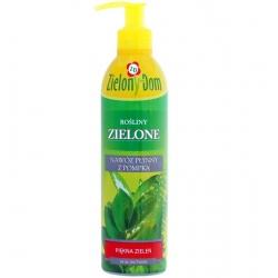 Nawóz do roślin zielonych w butelce z pompką - Zielony Dom - 300 ml
