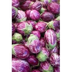 Bakłażan biało-fioletowy, Oberżyna Tsakoniki - 220 nasion