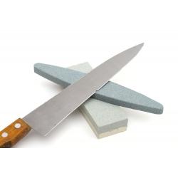 Kamienna osełka do ostrzenia noży, kos i innych ostrzy