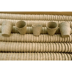 Okrągłe doniczki torfowe 8 cm średnicy - 1400 sztuk