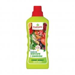 Nawóz mineralny do warzyw i owoców - Fruktovit - 1 litr