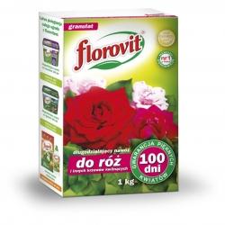 Nawóz 100 dni do róż i innych krzewów kwitnących - Florovit - 1 kg