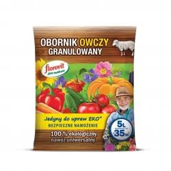 Obornik owczy granulowany - 100% ekologiczny - Florovit - 5 litrów