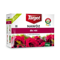 Nawóz do róż wzbogacony o mikroskładniki - Target - 4 kg