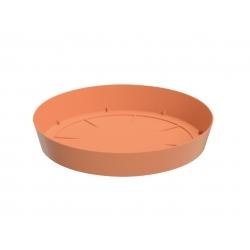 Lekka podstawka do doniczki Lofly - 10,5 cm - kolor terakota