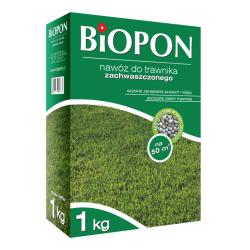 Nawóz do zachwaszczonego trawnika - Biopon - 1 kg