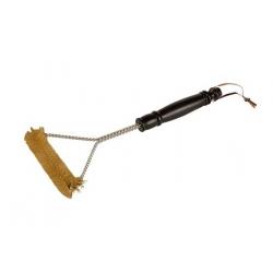 Szczotka z mosiężnym włosiem do czyszczenia grilla i rusztu - Greenmill