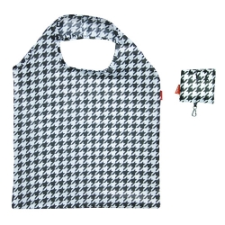 Torba na zakupy - składana - 42 x 60 cm - pepitka