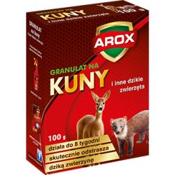 Preparat odstraszający kuny, sarny i inne dzikie zwierzęta - Arox - 100 g