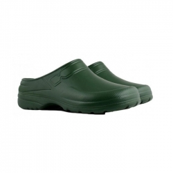 Chodaki męskie lekkie, piankowe - Clog - zielone - rozmiar 43
