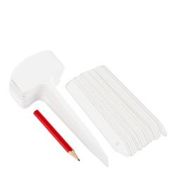 Etykiety, tabliczki do podpisywania roślin - mix 30 szt. + ołówek