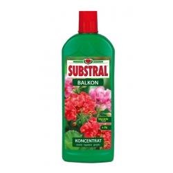 Nawóz do kwiatów balkonowych - wspomaga kwitnienie - do surfinii, peralgonii, petunii, fuksji, begoni - Substral - 1 l