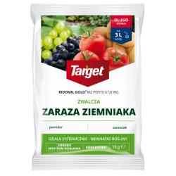 Ridomil Gold MZ Pepite 67,8 WG - zwalcza zarazę ziemniaka - Target - 15 g