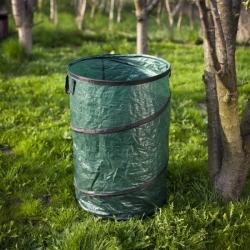 Pojemnik ogrodowy składany duży - na liście, trawę, chwasty, śmieci - 210 litrów