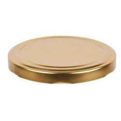 Zakrętki do słoików (gwint 6) - złota - śr. 82 mm - 10 szt.