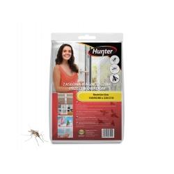 Zasłona magnetyczna przeciw owadom - czarna - 100 x 220 cm - Hunter