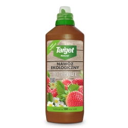 Ekologiczny nawóz do truskawek - płynny - Target - 1 litr