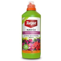 Nawóz w płynie z dużą zawartością potasu - Morze Kwiatów - Target - 1 litr