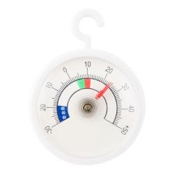 Termometr do lodówek i zamrażarek - okrągły wskazówkowy - z zawieszką