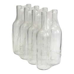 Zestaw butelek na wino - 750 ml - 8 szt.