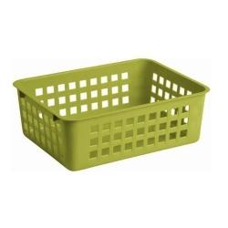 Koszyk do przechowywania - 25 x 17 cm - zielony
