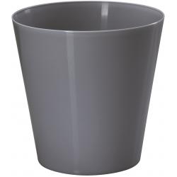 Osłonka okrągła Vulcano - 9,5 cm - antracyt
