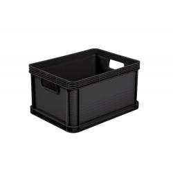 Pojemnik transportowy - Robert - 20 litrów - grafitowy