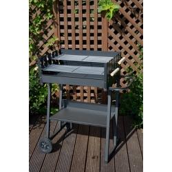 Grill prostokątny 59 x 44,5 cm - grillowanie na dwóch wysokościach
