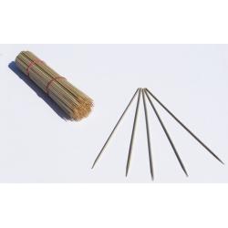 Patyczki z bambusa obrabianego - 30 cm - 20 szt.