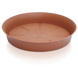 Podstawka do doniczki okrągłej Plastica - 11,2 cm - terakota