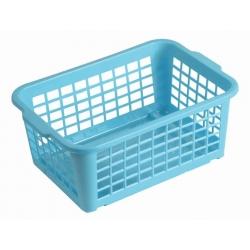 Koszyk do przechowywania - 30 x 20 cm - niebieski