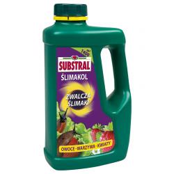 Ślimakol - zwalcza ślimaki na roślinach ozdobnych, warzywach i truskawkach - Substral - 1 kg