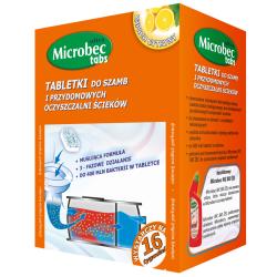 Bros - Microbec Ultra - Preparat do szamb w postaci tabletek - 5 x 20 g