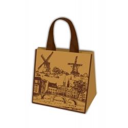 Torba na zakupy - Podróże Europy - Amsterdam - 34 x 36 x 22 cm