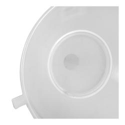 Lejek plastikowy z sitkiem - śr. 25 cm