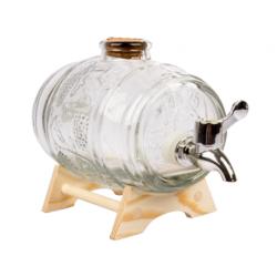 Ozdobna baryłka na nalewkę - Marzenie Nalewkarza - 1 litr