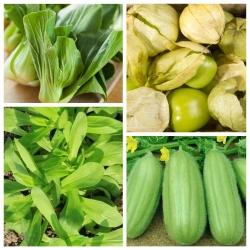 Niespotykane warzywa - zestaw 4 odmian nasion
