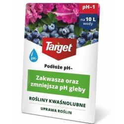 Podłoże pH- - zakwasza i obniża pH gleby - Target - 100 ml
