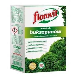 Nawóz do bukszpanów i innych żywopłotów liściastych - zwiększający gęstość - Florovit - 1 kg