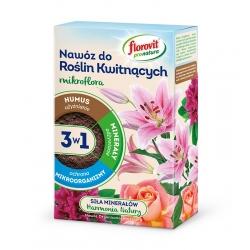 Nawóz do roślin kwitnących 3 w 1 - użyźnia, odżywia i chroni - Pro Natura - Florovit - 1 kg