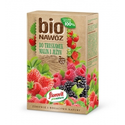 BIO Nawóz do truskawek, malin i jeżyn - do upraw ekologicznych - Florovit - 700 g