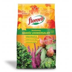 Nawóz jesienny uniwersalny - szybszy start roślin wiosną - Florovit - 3 kg